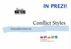 Prezi Conflict styles intro