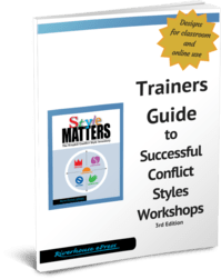 Conflict Styles Trainers Guide2012