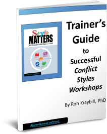 conflict style trainers guide