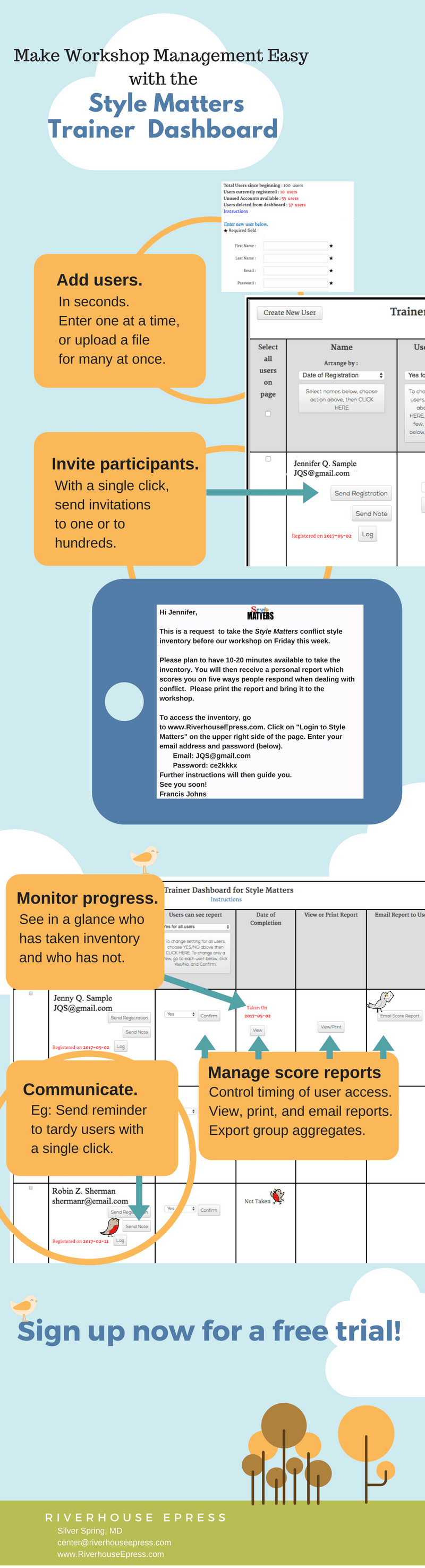 TrainersUseStyle MattersDashboard